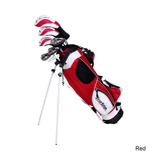 TourEdge Junior HT Max J Jr 5x2 w/ Dual Strap Stand Bag Sets