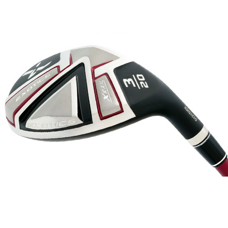 Tour Edge Ladies Exotics X-Rail Hybrids