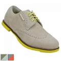 True Linkswear Ladies Dame Wingtip Suede Shoes