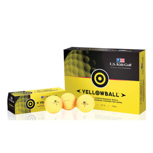 USKids Yellowball Golf Balls