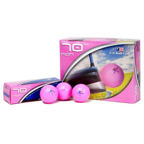 USKids SS 70 Mph Golf Balls