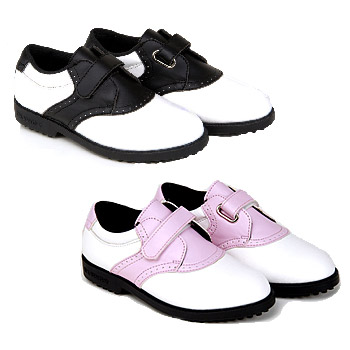 USKids Swing-Right Spikeless Golf Shoes
