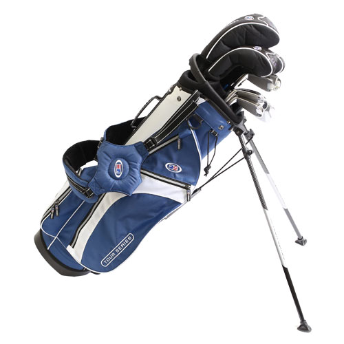USKids Tour Series V 63 10 Club Stand Bag Set