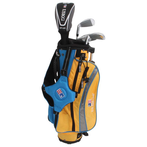 USKids 2014 Ultralight 42 4 Club Stand Bag Boys Sets