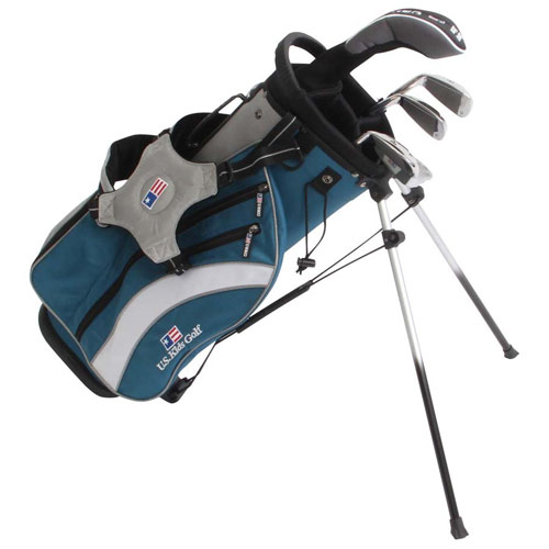 USKids Ultralight 48 5 Club Stand Bag Boys Set