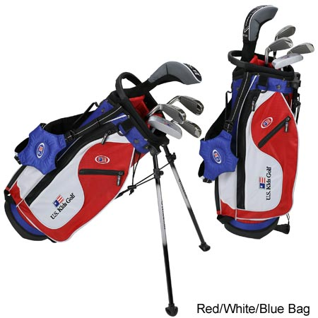 USKids Ultralight 48 5-Club Stand Bag Set