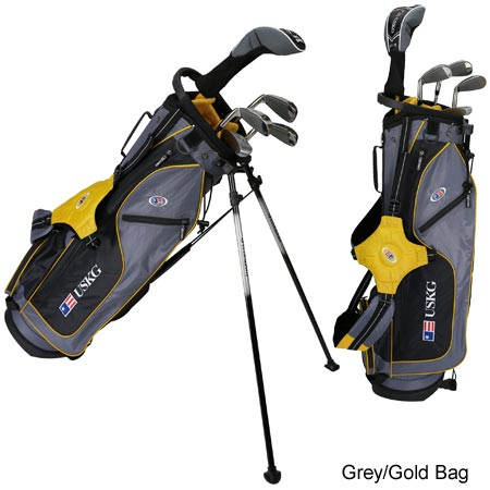 USKids Ultralight 63 5-Club Stand Bag Set