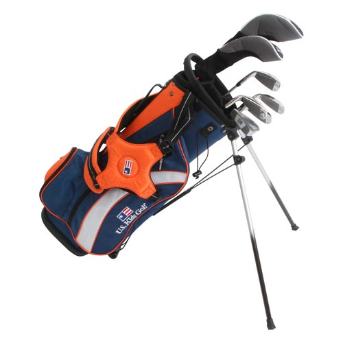 USKids Ultralight 51 7-Club Stand Bag Boys Set