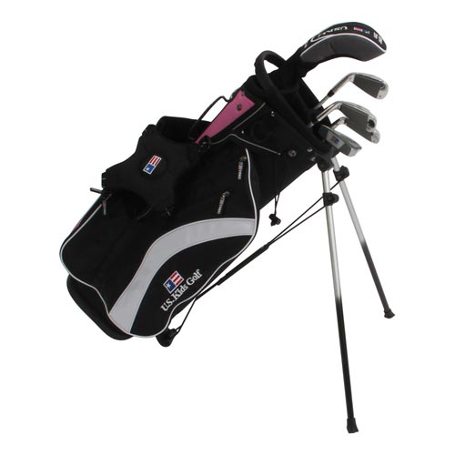 USKids Ultralight 51 5-Club Stand Bag Girls Set