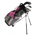 USKids Ultralight 48 5-Club Stand Bag Girls Set