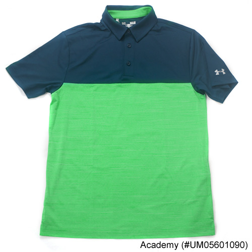 Under Armour Playoff Blocked Polo