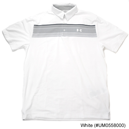 Under Armour Playoff Hazard Chest Stripe Polo