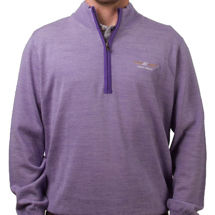 Vokey Design FJ End on End Merino Half-Zip Pullovers