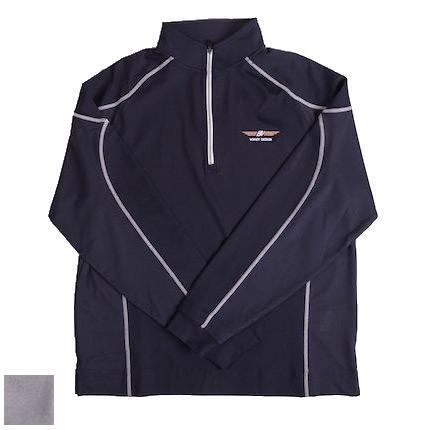 Vokey Design FJ Mixed Texture Sport Half-Zip Pullover