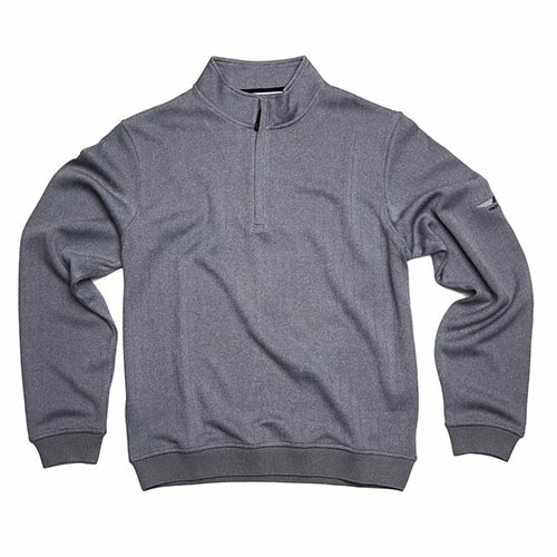 Vokey Design FJ Drop Needle Half-Zip Pullover w/Gathered Waist