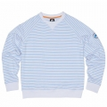 Vokey Design FJ French Terry Crew Neck Stripe Pullover