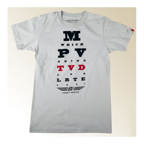 Vokey Design Vokey Eye Chart T-Shirts