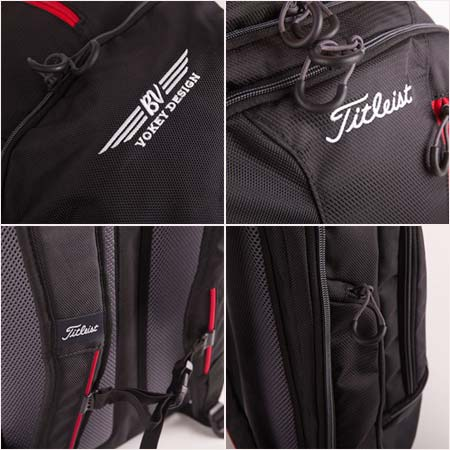 Vokey Design Titleist Essential Large Backpack with BV Wings - Click Image to Close