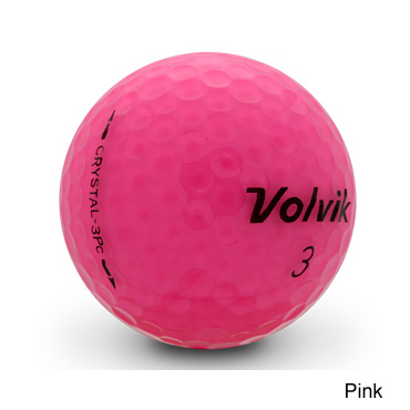 Volvik Vista Crystal Golf Balls