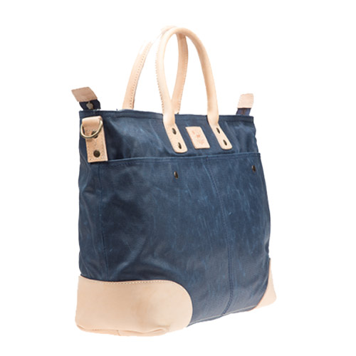 Will Leather Goods Wax Coated Canvas Tote Bags