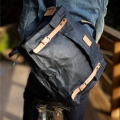 Will Leather Goods Wax Coated Canvas Messenger Bags
