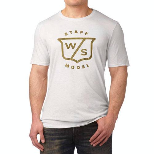 ウイルソン スタッフ Staff 100 Year Anniversary Shield Golf T Shirts/ウイルソンスタッフスタッフ100周年記念盾ゴルフTシャツ【ゴルフウェアWilson(ウイルソン)】/WIL0121/Wilson(ウイルソン)/激安クラブ USAから直送【フェアウェイゴルフインク】