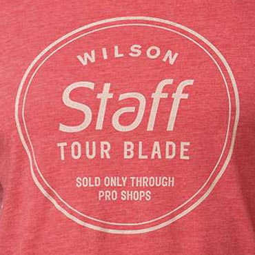 Wilson Staff 100 Year Anniversary Tour Blade Golf T Shirts