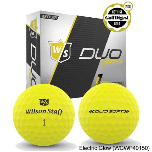 Wilson Staff DUO SOFT OPTIX Golf Ball