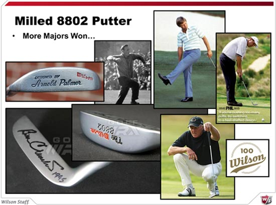 Milled 802 putter