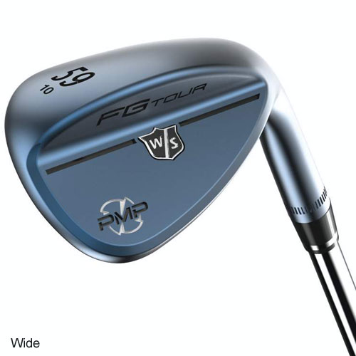 Wilson FG Tour PMP Gun Blue PVD Wedges