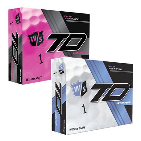 ウイルソン スタッフ Staff Ladies True Distance Golf Ball