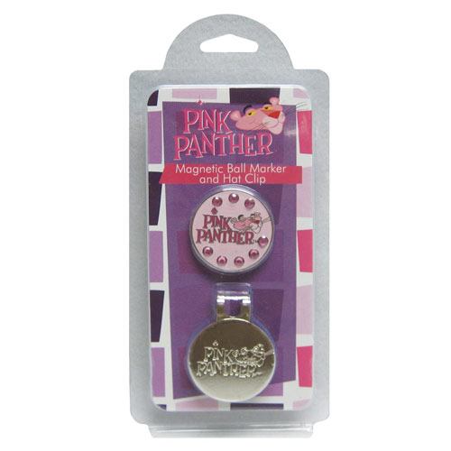 winn グリップing Edge Pink Panther Magnetic Hat Clip Ball Markers