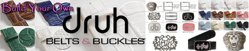 Druh Custom Leather Belts