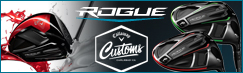 Callaway Rogue Custom Drivers with Paintfill