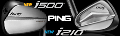 ピン i210 & i500 new アイアン
