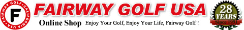 アメリカ カリフォルニアから本場のゴルフ用品を円高還元価格でお得にショッピング!輸入ゴルフ用品通販のフェアウェイゴルフならレディースのゴルフクラブ、ゴルフバッグ、ゴルフシューズ、ゴルフボール、ゴルフウェア、ゴルフアクセサリーが激安!
