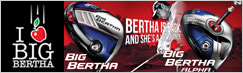Callaway Ladies Big Bertha Drivers