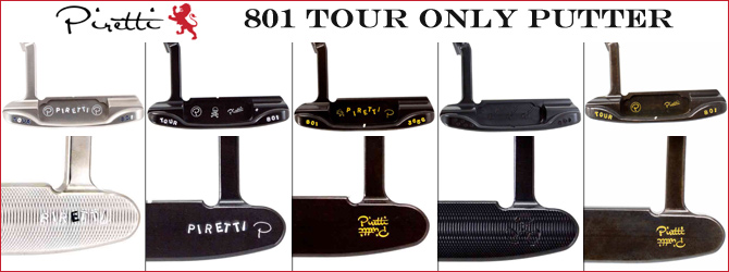 Piretti 801 Tour Only Putter