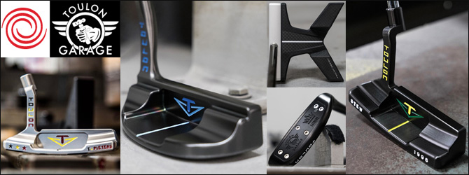 Odyssey Toulon Design Custom Putters (カスタムパター)