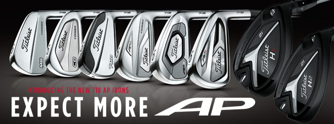 Titleist 718 series irons & 818 hybrids