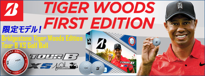 限定モデル!Bridgestone Tiger Woods Edition Tour B XS Golf Ball