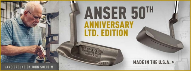レア!PING Anser 50th Anniversary Putter
