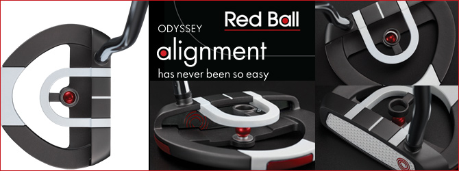 Odyssey Works Red Ball Putter