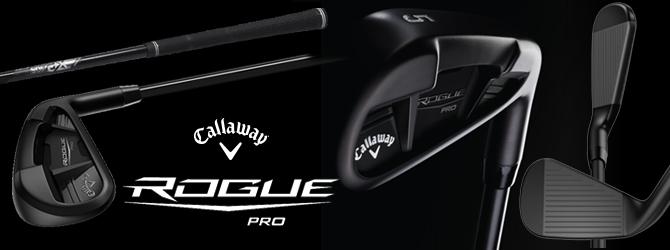 Callaway Rogue Pro Black Irons