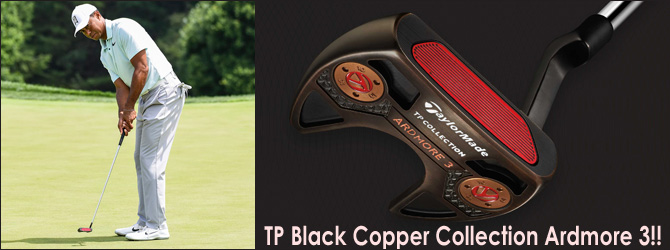 TaylorMade TP Black Copper Collection Ardmore 3!!