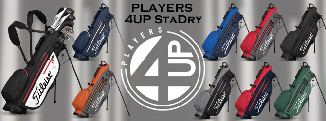 タイトリスト Players 4UP STADRY Stand Bag