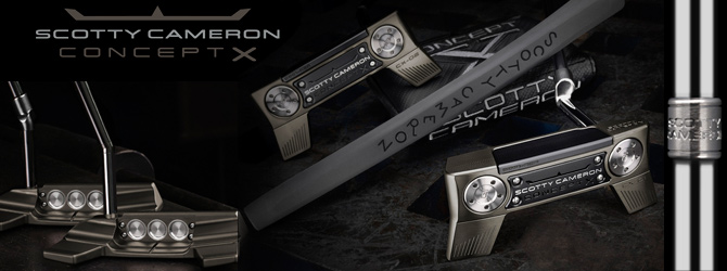 Scotty Cameron Limited Concept X Putter