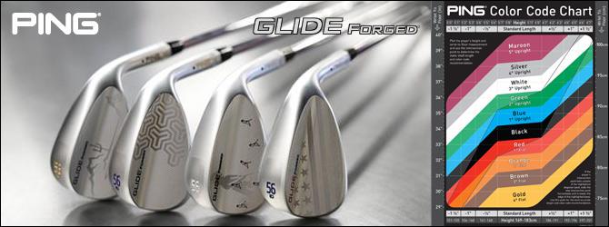 PING Glide Forged custom ウェッジ