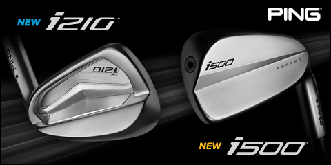 Ping NEW i500 & i210 Irons