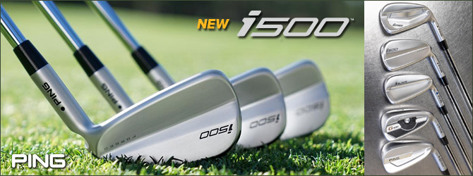 Ping NEW i500 Irons
